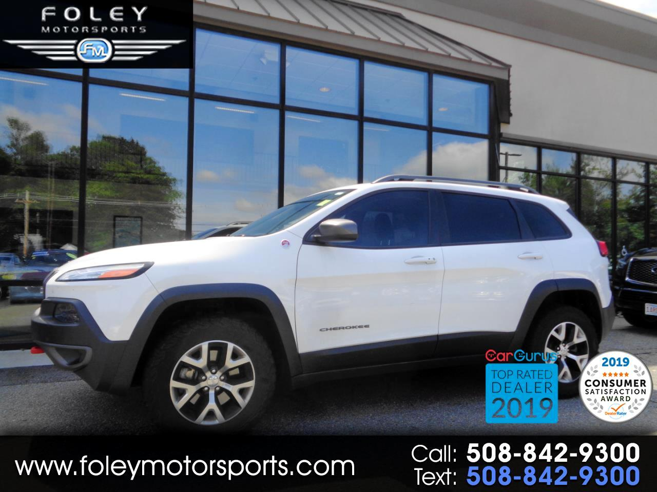 Jeep Cherokee 4WD 4dr Trailhawk 2015