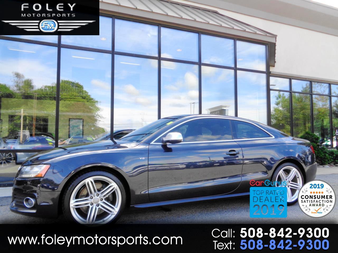 Audi S5 2dr Cpe Auto Premium Plus 2012