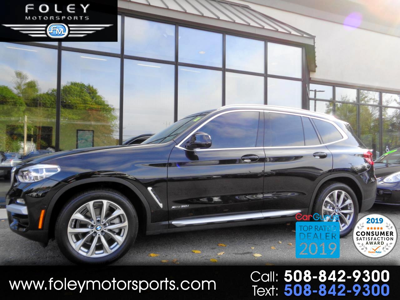 BMW X3 xDrive30i Sports Activity Vehicle 2018
