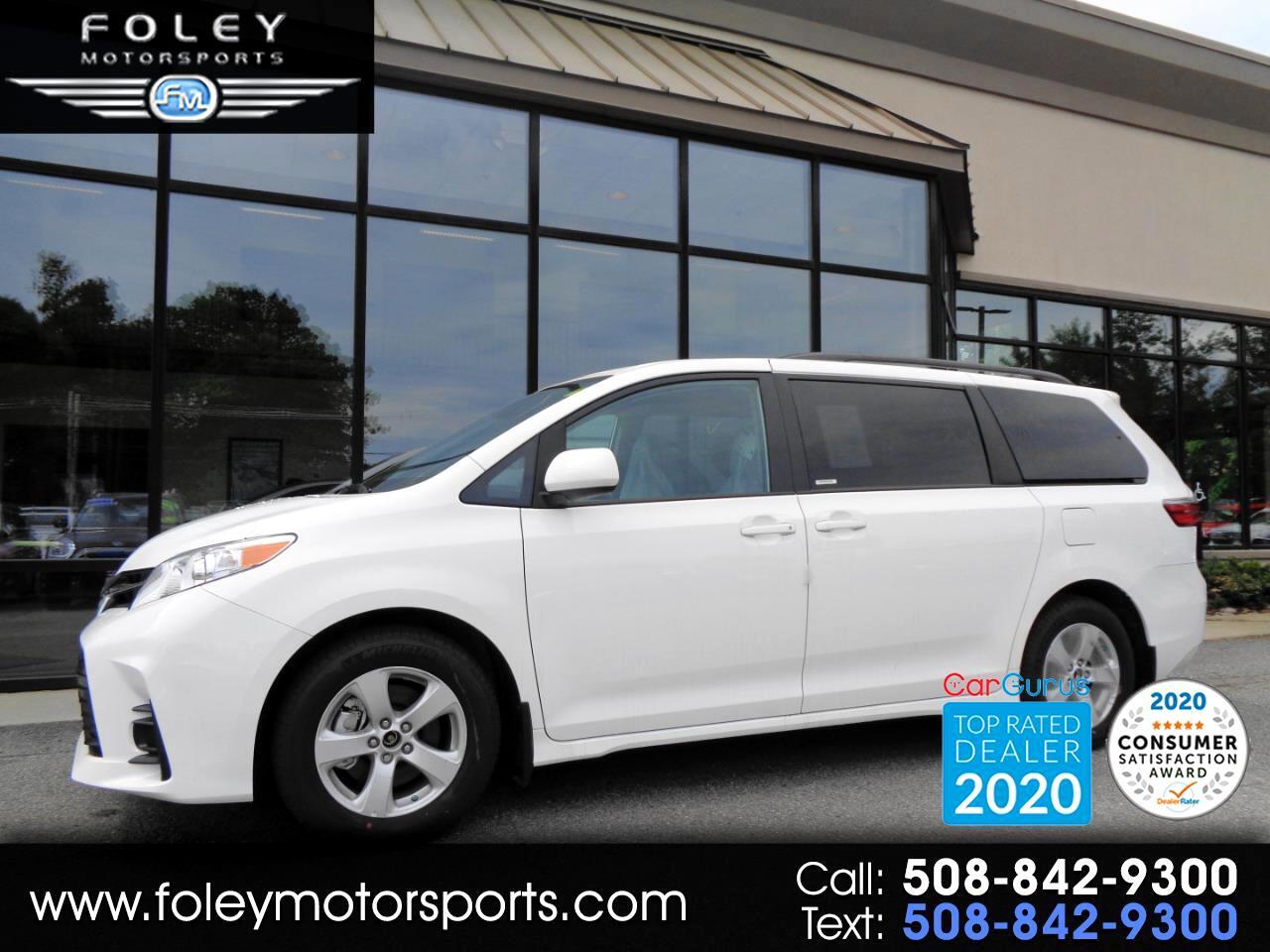 Toyota Sienna LE FWD 8-Passenger (Natl) 2020