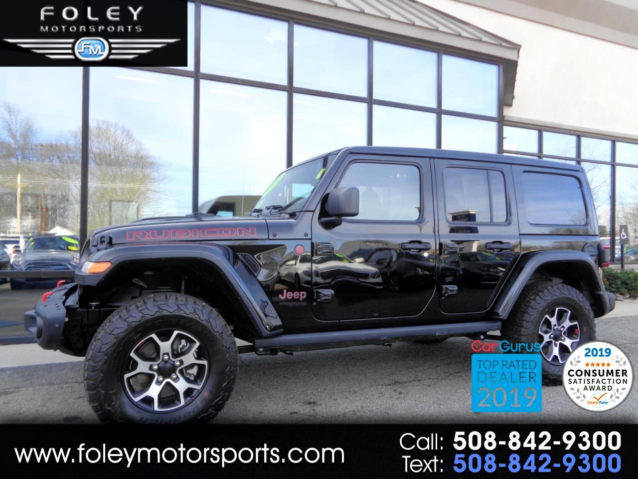 Jeep Wrangler Unlimited Rubicon 4x4 2020