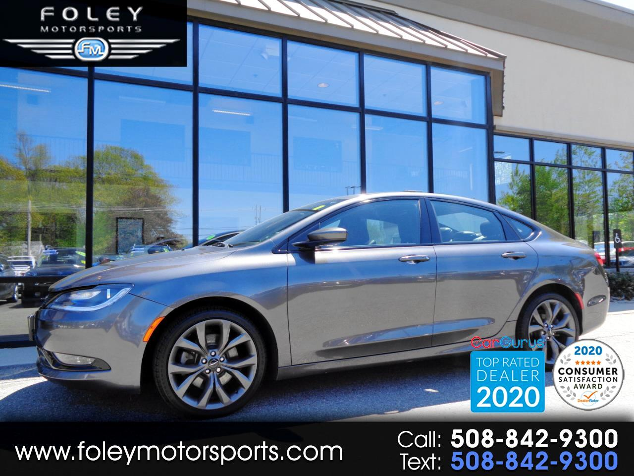 Chrysler 200 4dr Sdn S AWD 2015