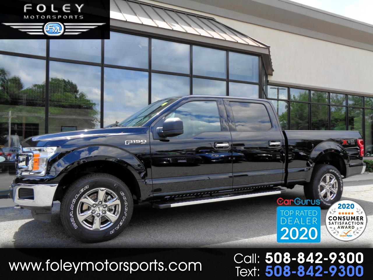 "Ford F-150 4WD SuperCrew 157"" XLT 2020"