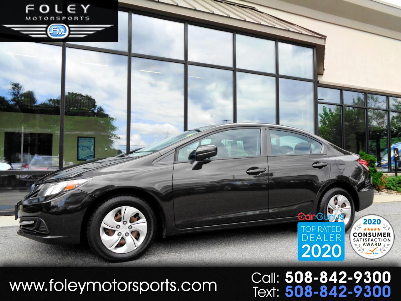 Honda Civic Sedan 4dr CVT LX 2014