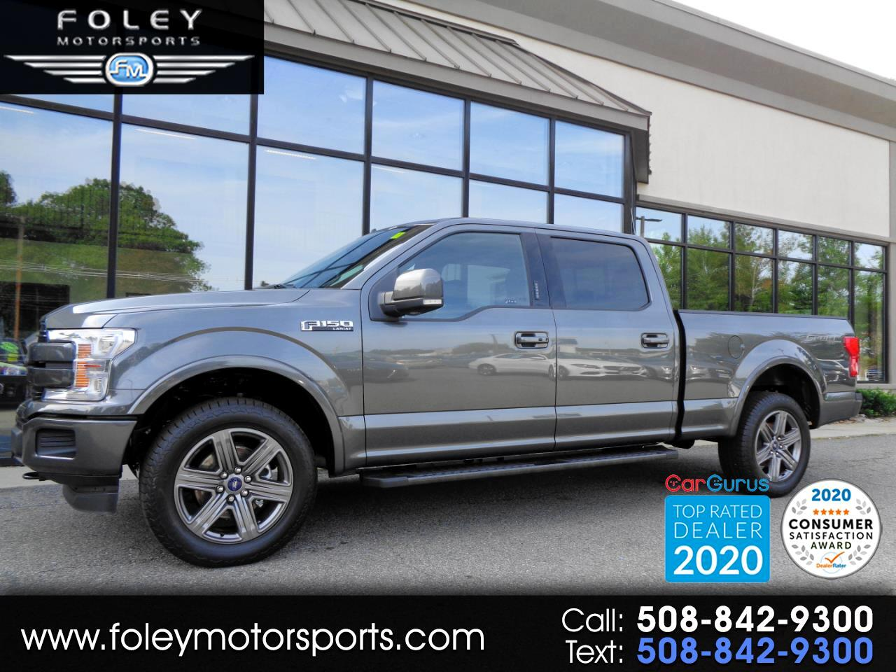 Ford F-150 Lariat 4WD SuperCrew 6.5' Box 2020