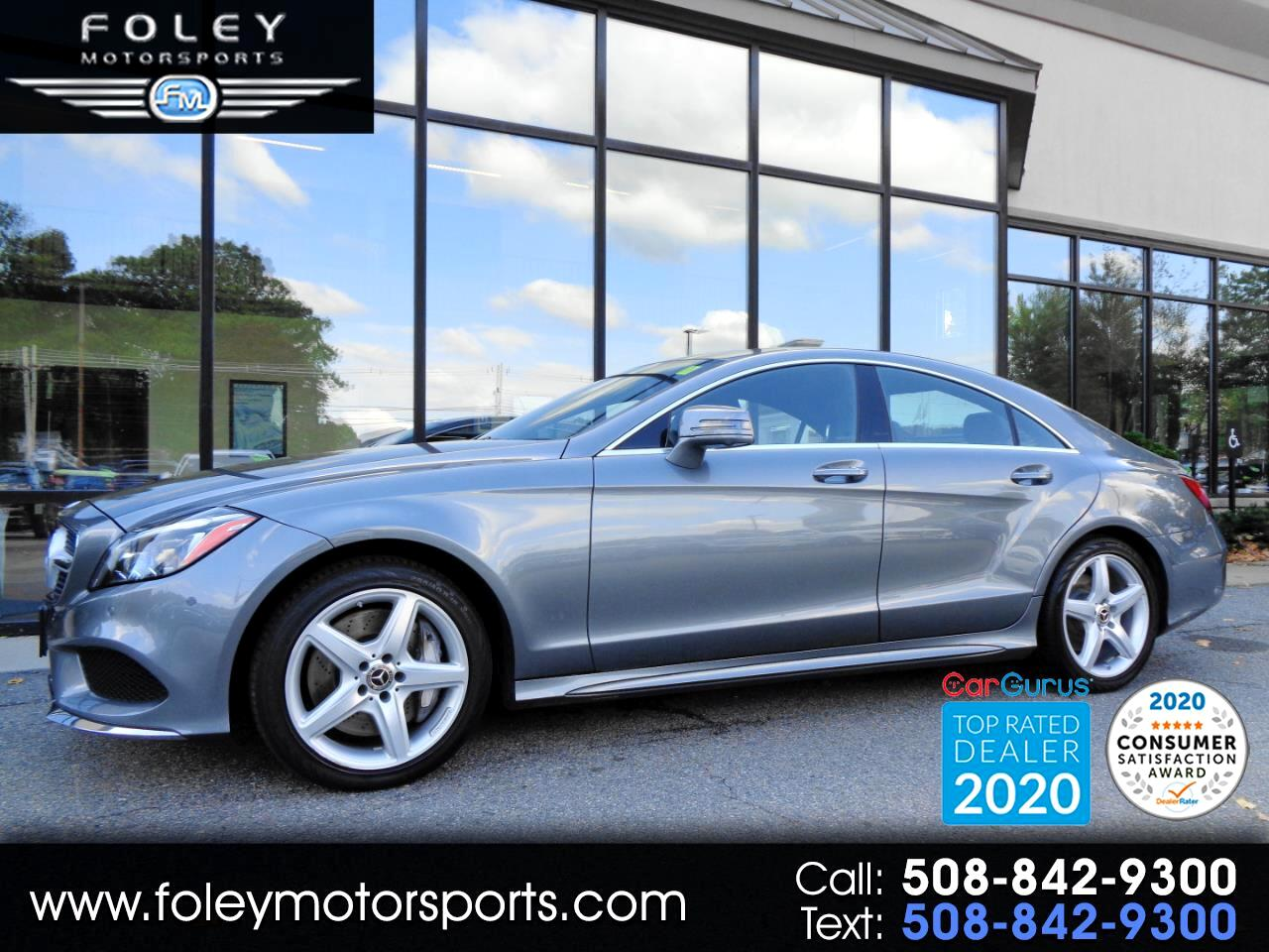 Mercedes-Benz CLS CLS 550 4MATIC Coupe 2018