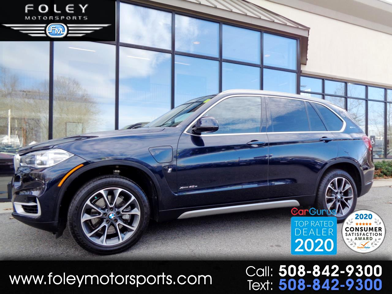 BMW X5 xDrive40e iPerformance Sports Activity Vehicle 2018