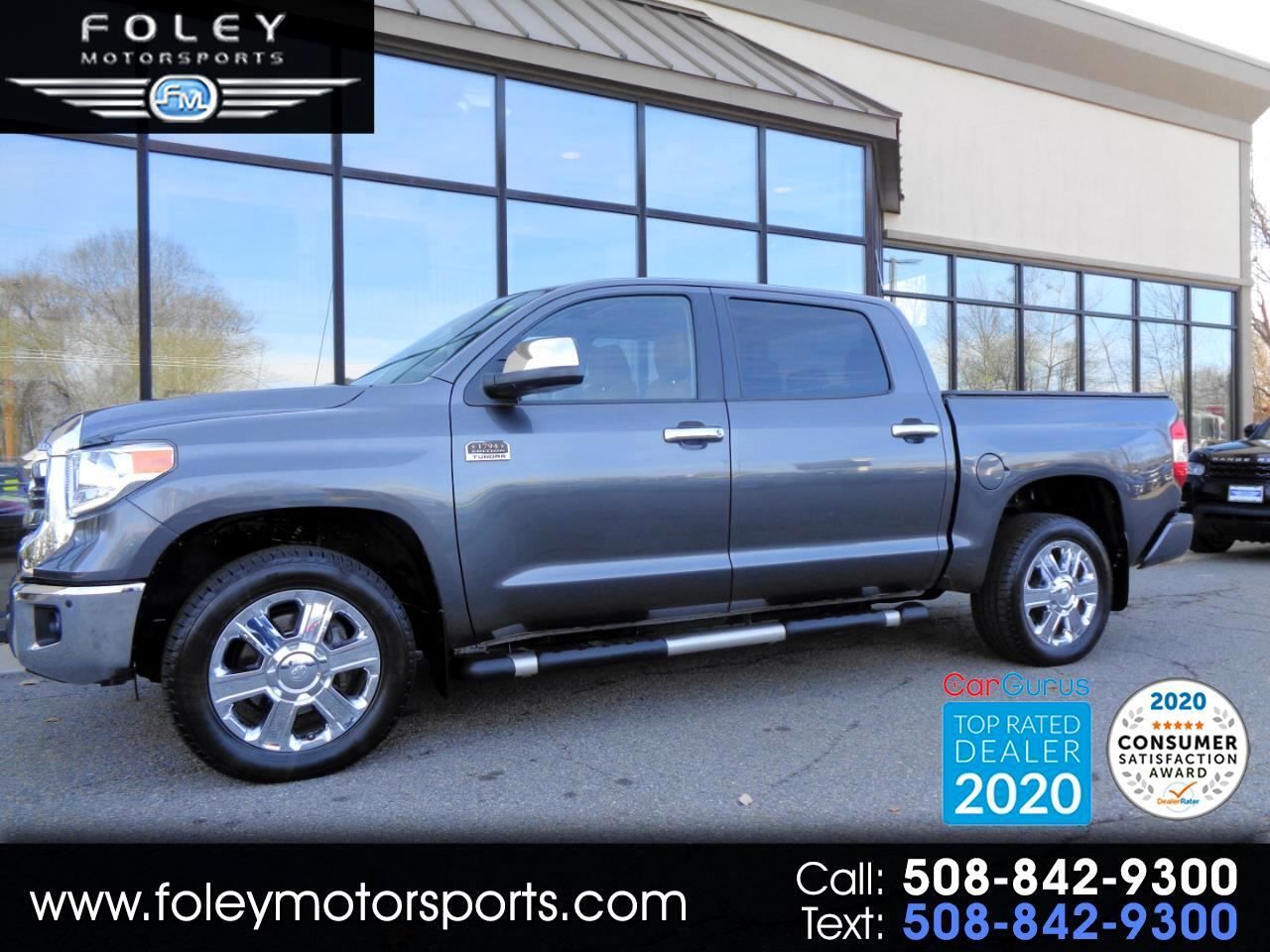 Toyota Tundra 4WD 1794 Edition CrewMax 5.5' Bed 5.7L (Natl) 2017