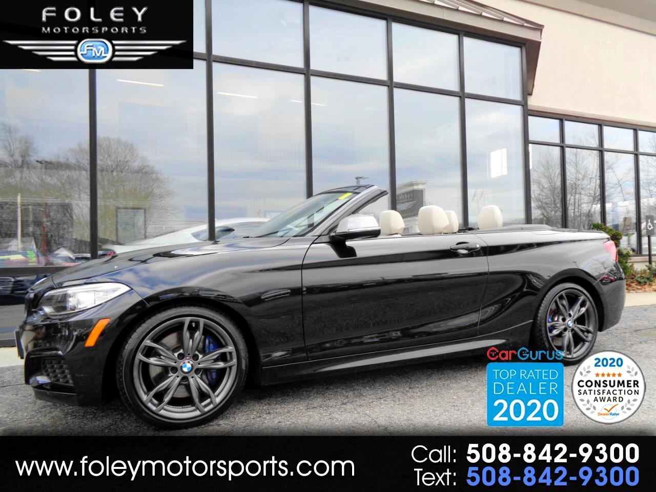 BMW 2 Series M240i xDrive Convertible 2017