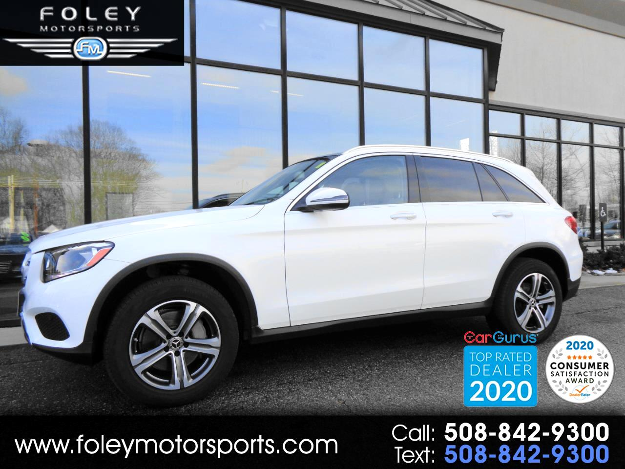 Mercedes-Benz GLC GLC 300 4MATIC SUV 2018
