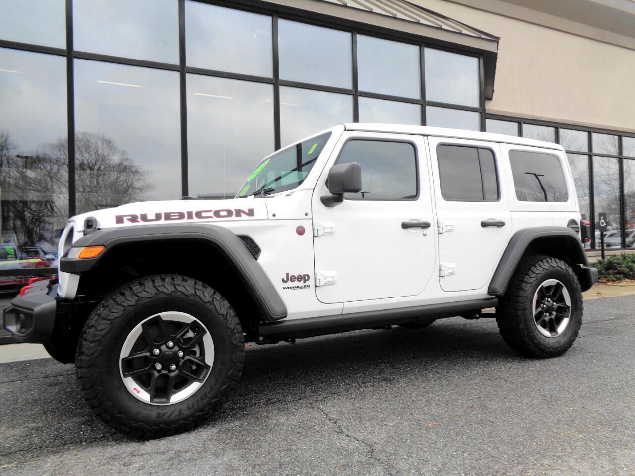 Jeep Wrangler Rubicon Unlimited 4x4 2021