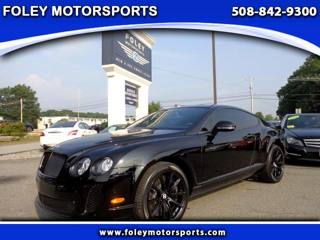 2011 Bentley Continental Supersports Coupe with Comfort Seat Option