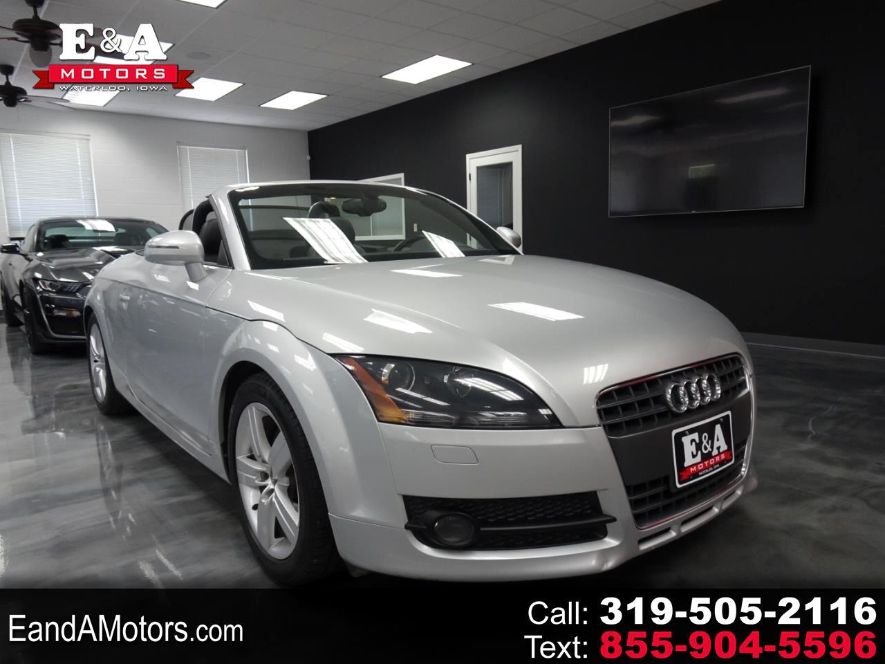 Audi TT 2.0 T Roadster with S tronic 2008
