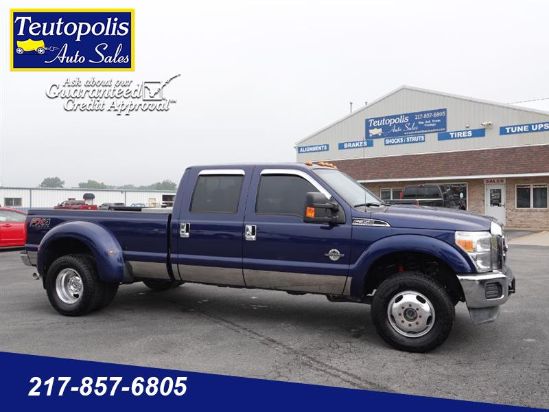 "2012 Ford F-350 SD 4WD Crew Cab 172"" XL"