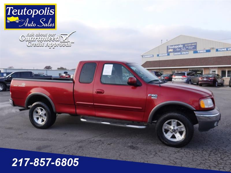 """Ford F-150 Supercab 139"""" King Ranch 4WD 2002"""