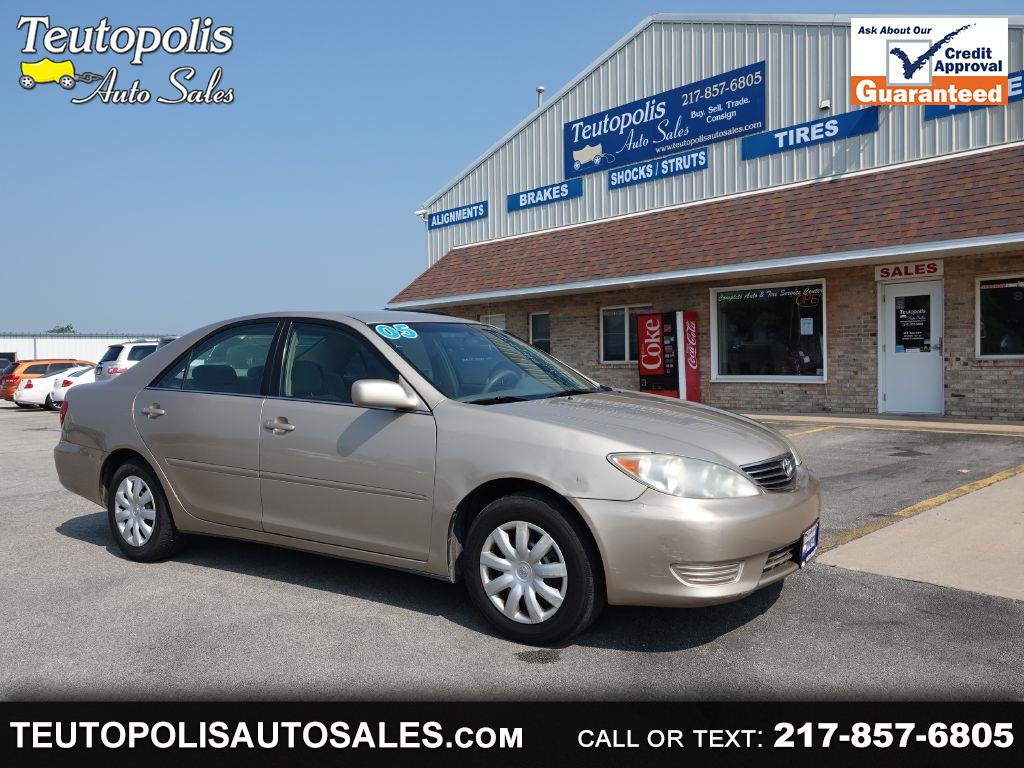Toyota Camry 4dr Sdn I4 Auto LE (Natl) 2005