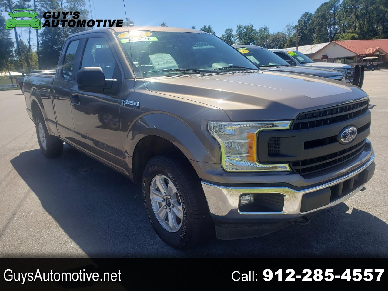 Ford F-150 XL SuperCab 6.5-ft. Bed 4WD 2018