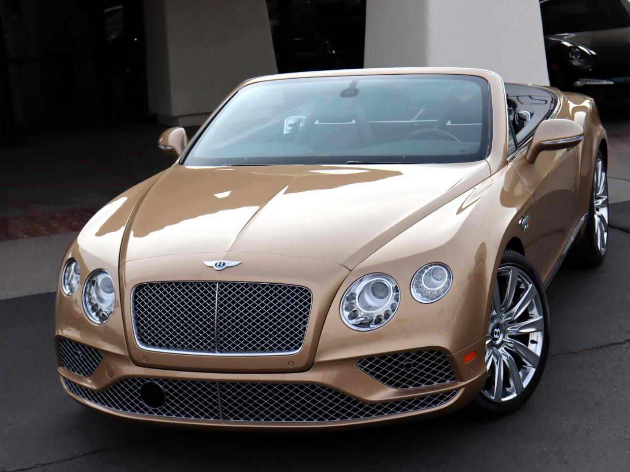 Bentley Continental GTC Convertible 2016