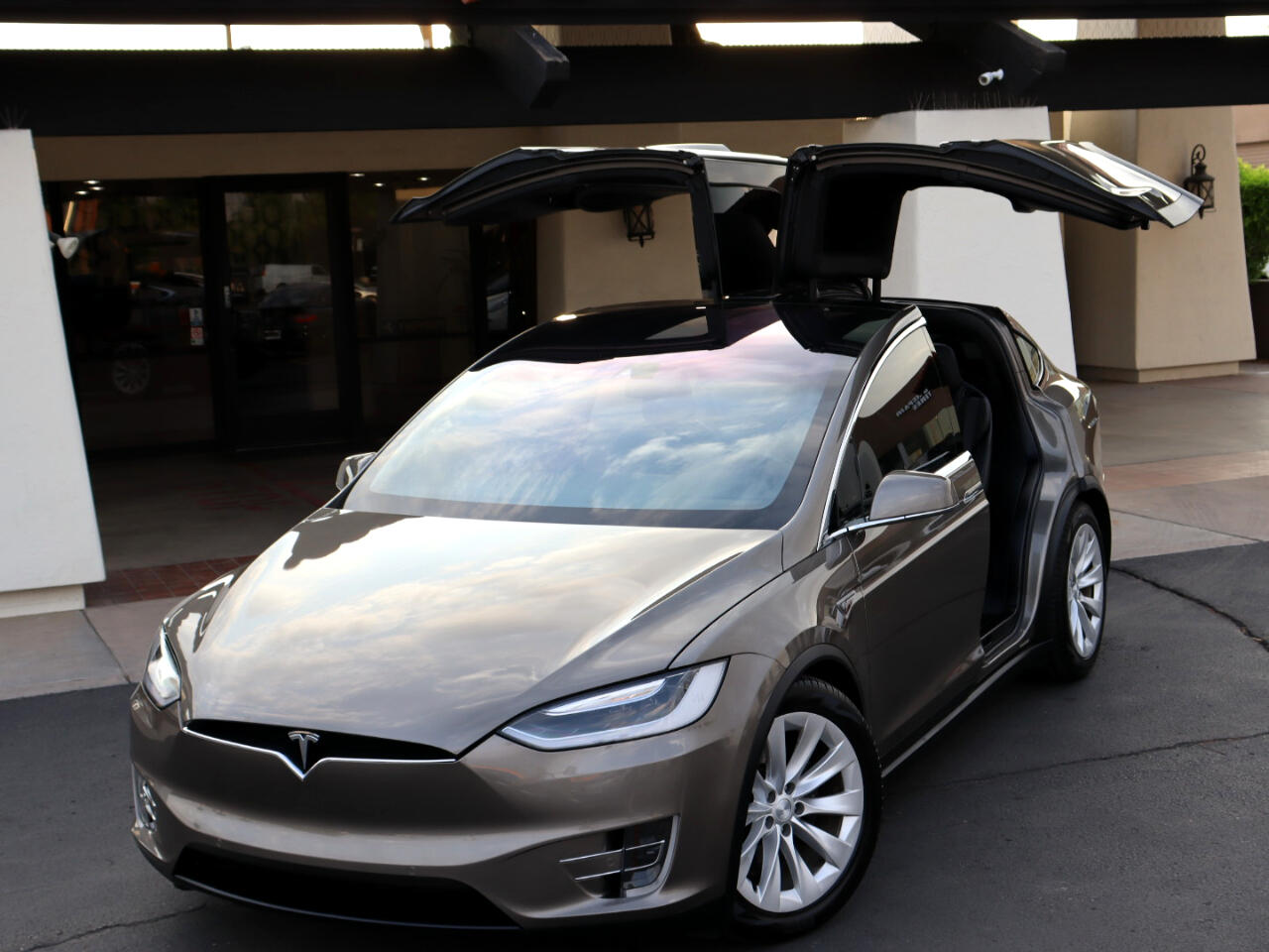 Tesla Model X 90D 2016