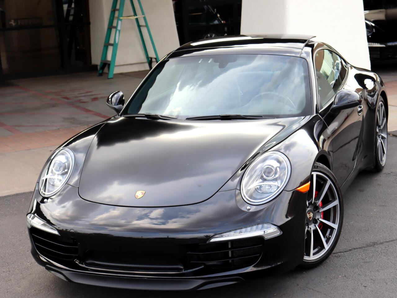 Porsche 911 Carrera S Coupe 2012