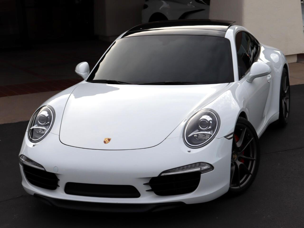 Porsche 911 Carrera S Coupe 2013