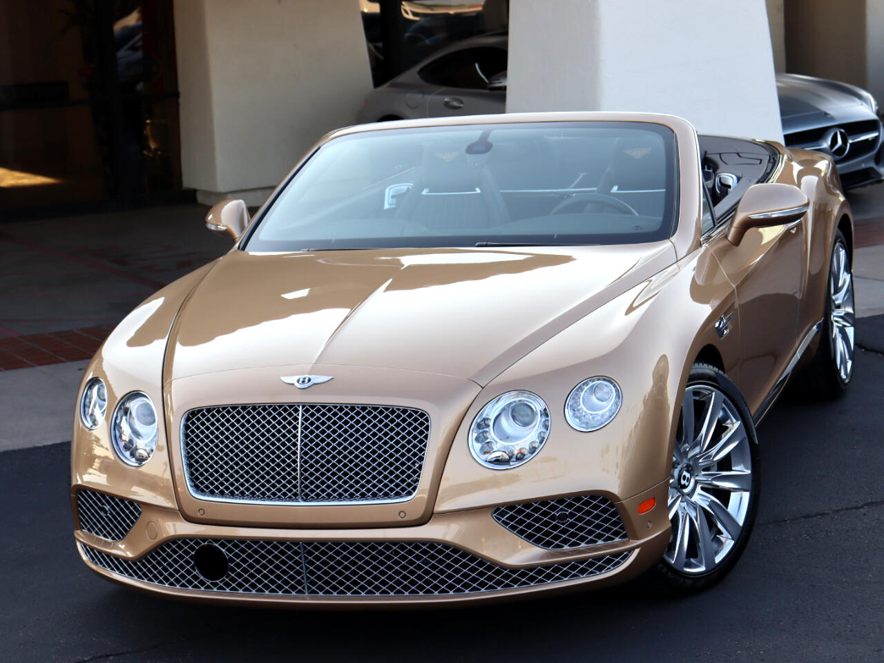 Bentley Continental GTC W12 2016