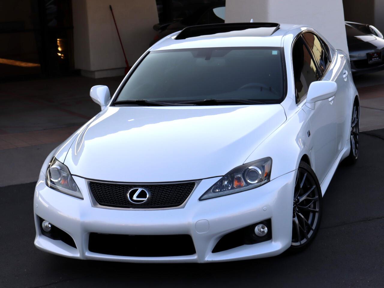 Lexus IS F 4D Sedan 2011