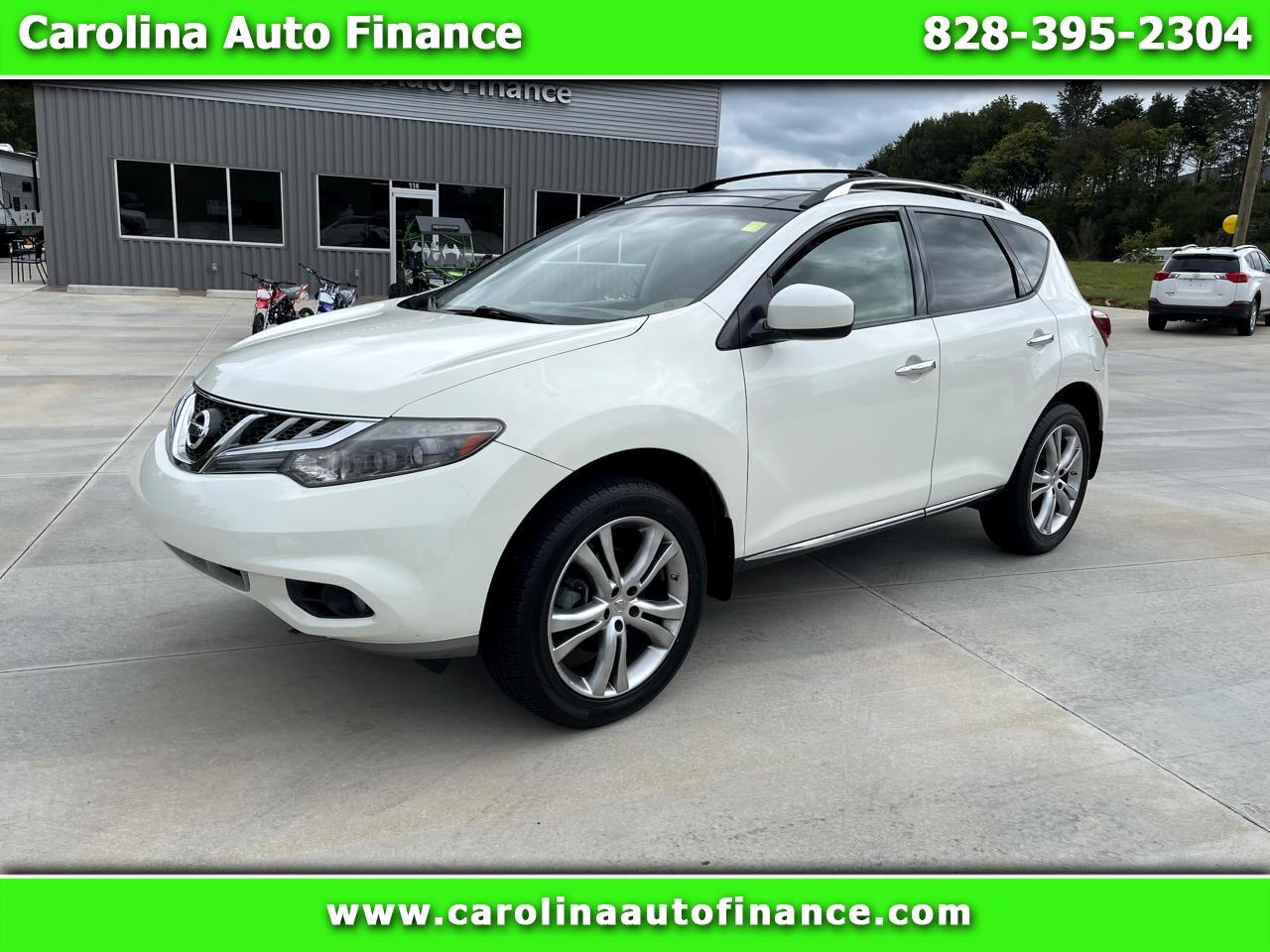 Nissan Murano AWD 4dr LE 2011