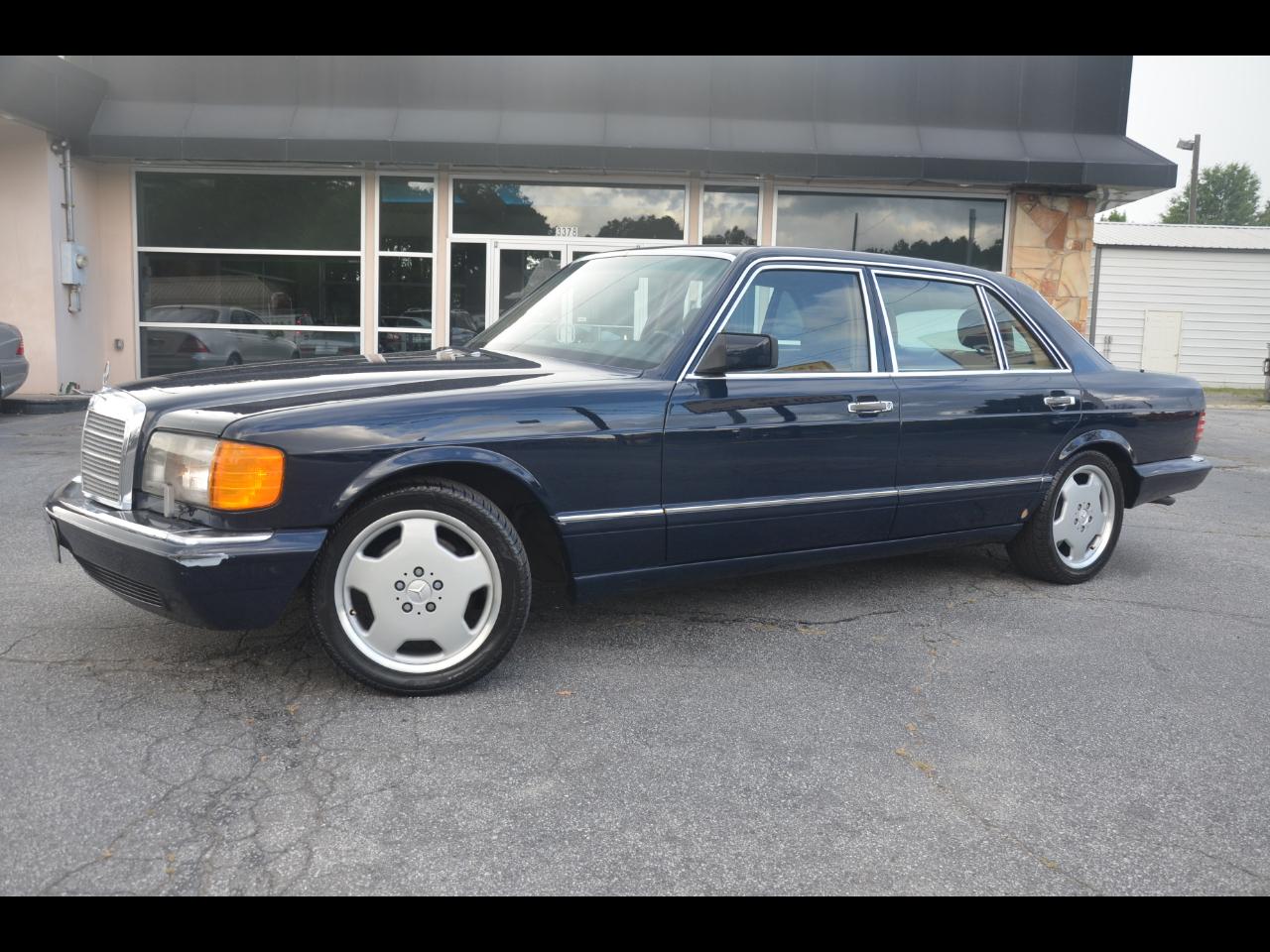 Mercedes-Benz 560 Series 4dr Sedan 560SEL 1991