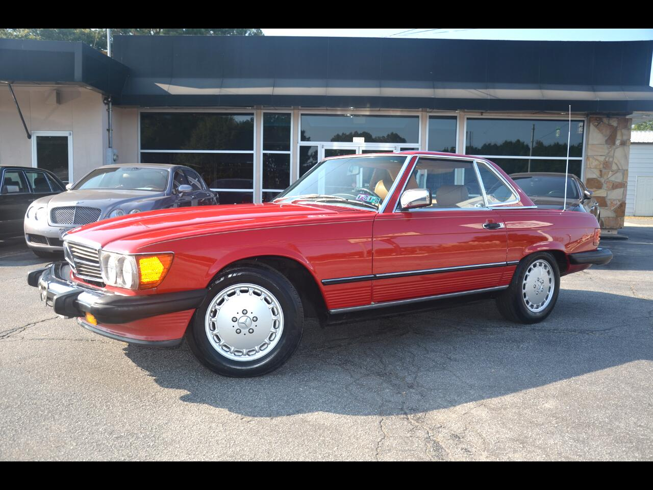 Mercedes-Benz 560 Series 2dr Coupe 560SL Roadster 1989
