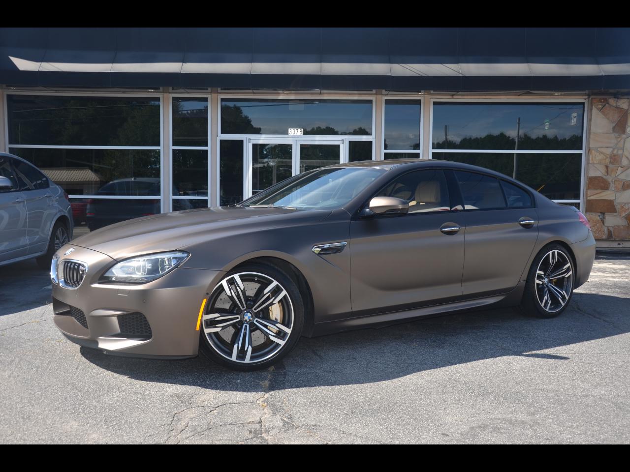 BMW M6 4dr Gran Cpe 2015