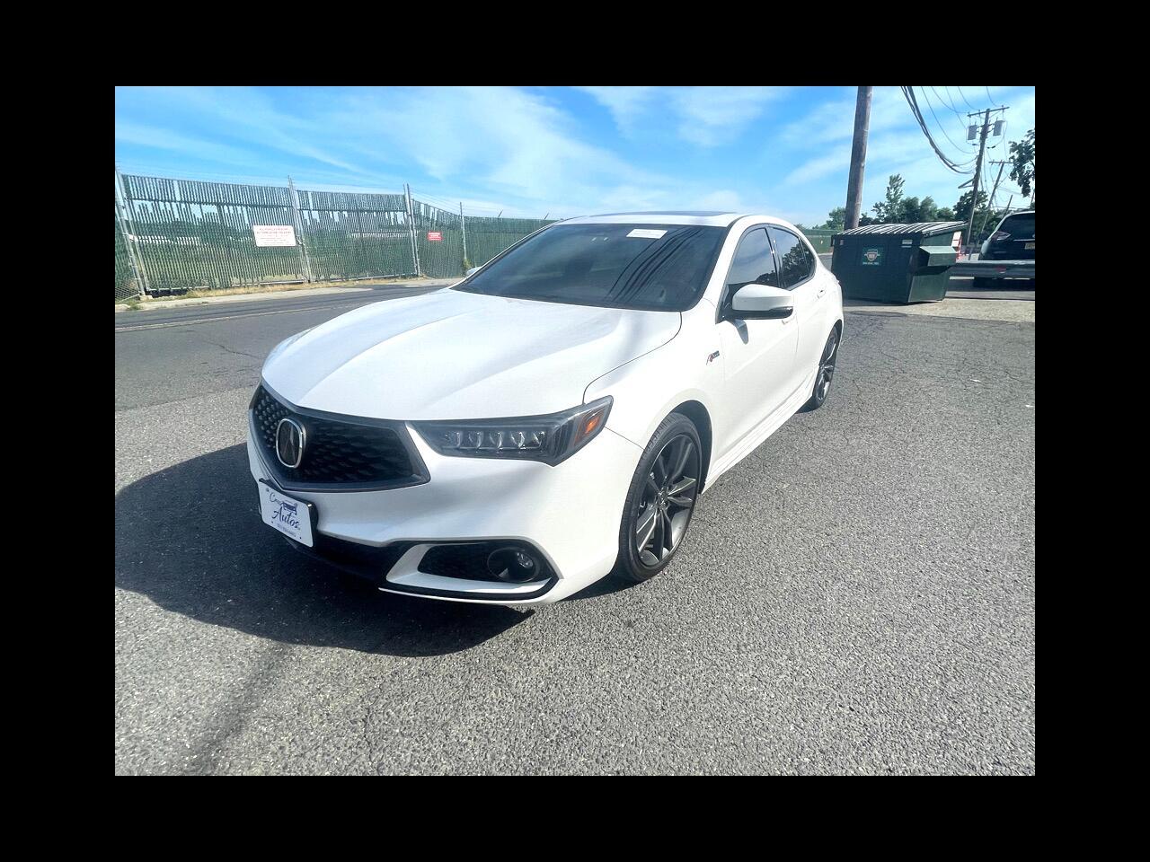 Acura TLX 3.5L SH-AWD w/A-SPEC Pkg 2018