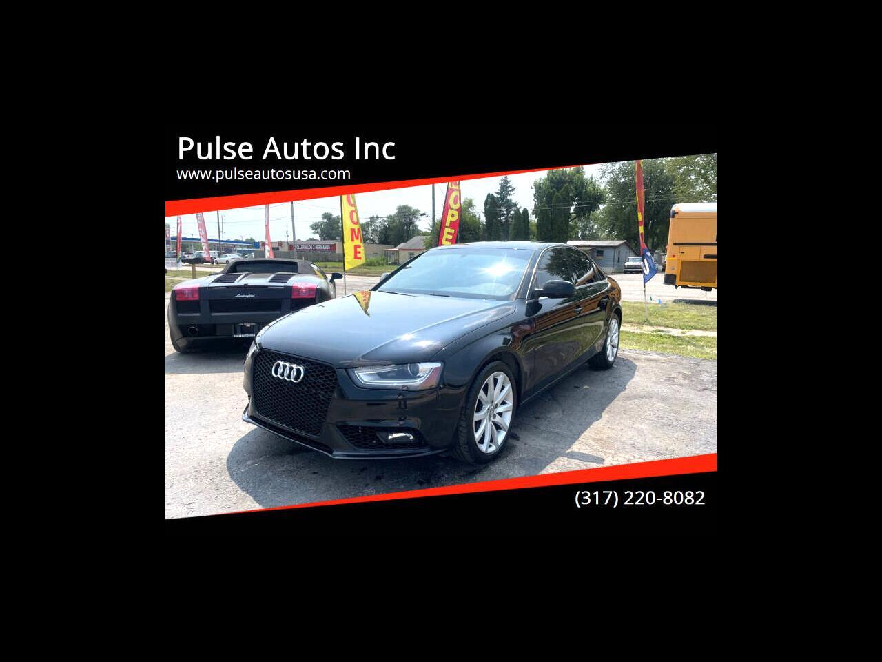 Audi A4 2.0T Premium Sedan quattro Manual 2013