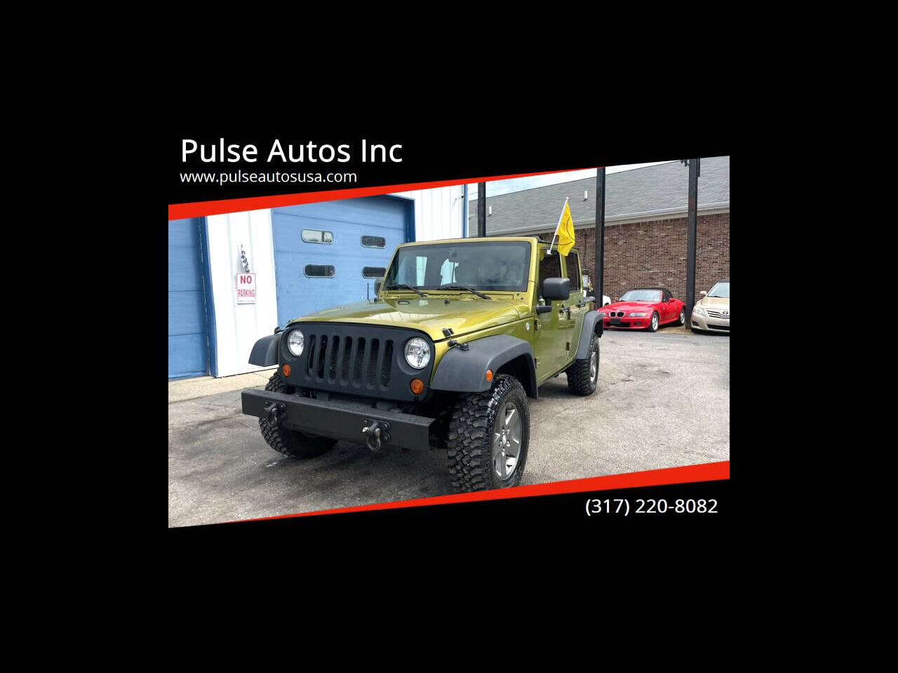 Jeep Wrangler Unlimited X 4WD 2007