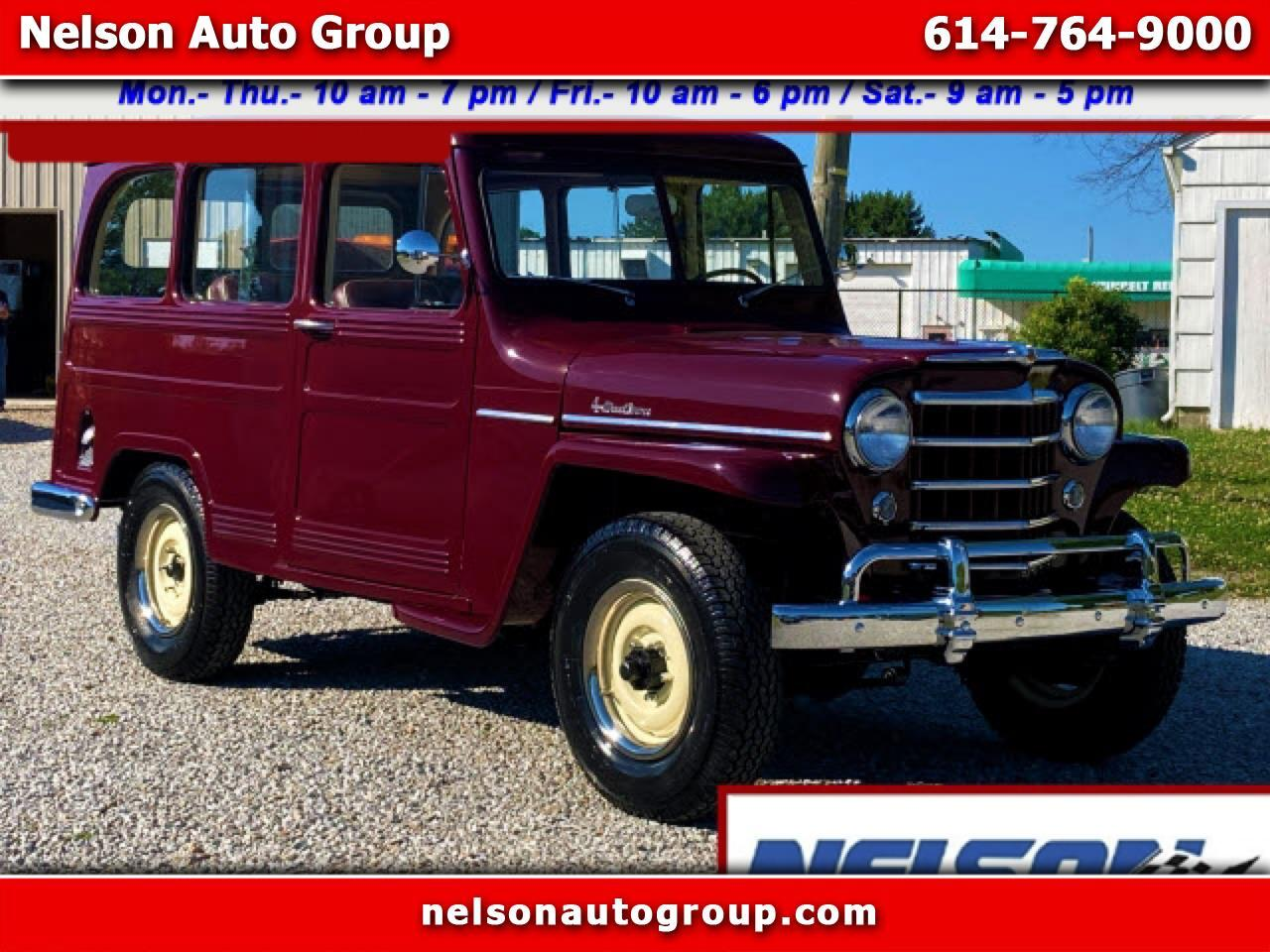 Willys Station Wagon Base 1952