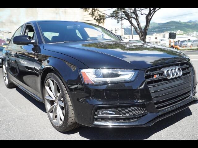 2015 Audi S4 Premium Plus quattro 7A