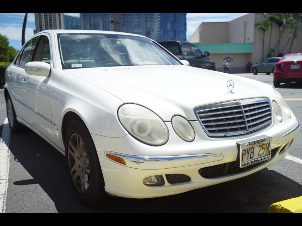 2005 Mercedes-Benz E-Class 4dr Sdn 3.2L *Ltd Avail*