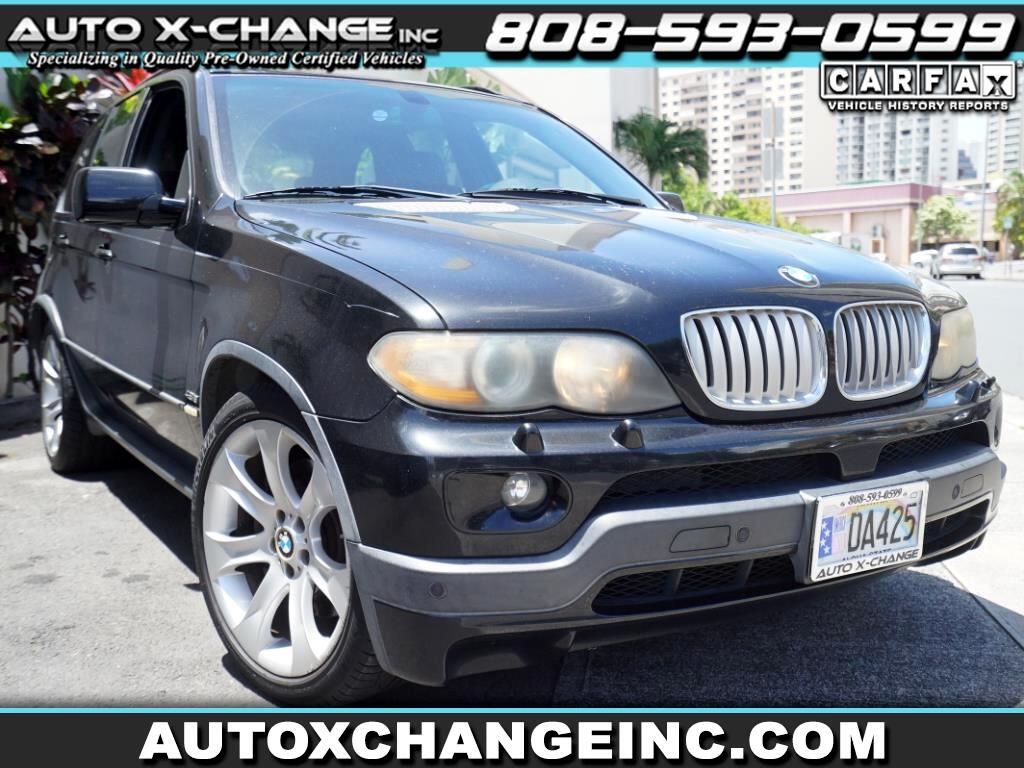 BMW X5 X5 4dr AWD 4.8is 2006