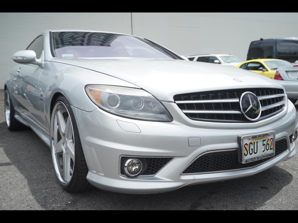 2008 Mercedes-Benz CL-Class 2dr Cpe 6.0L V12 AMG