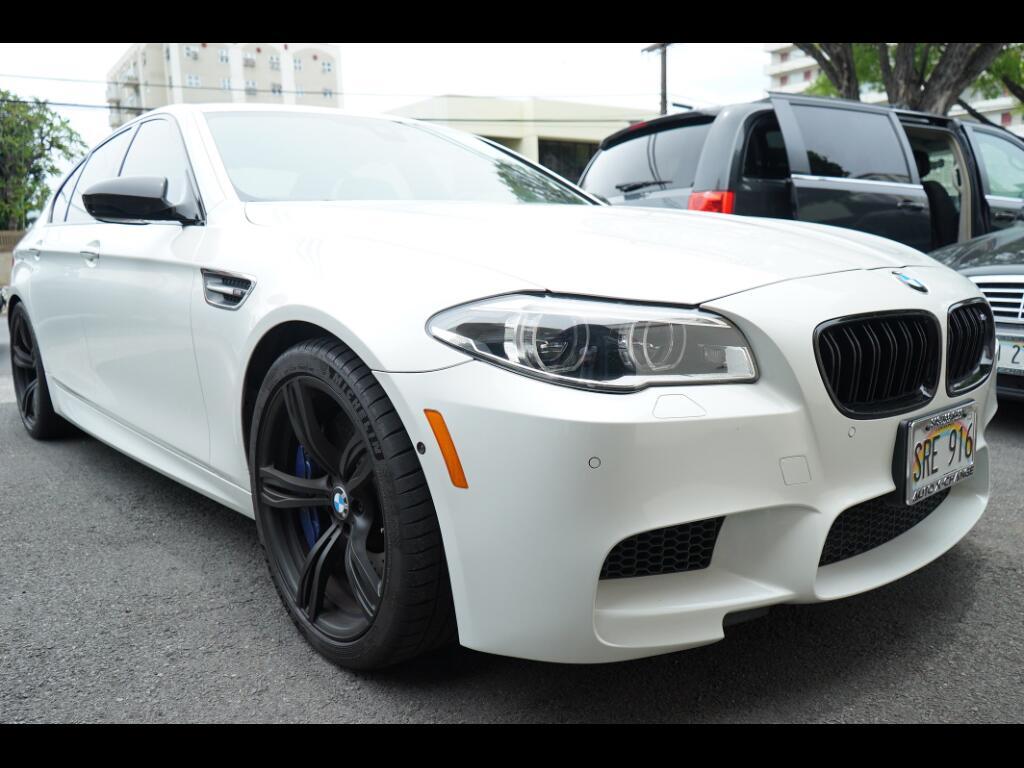 2015 BMW M5 4dr Sdn