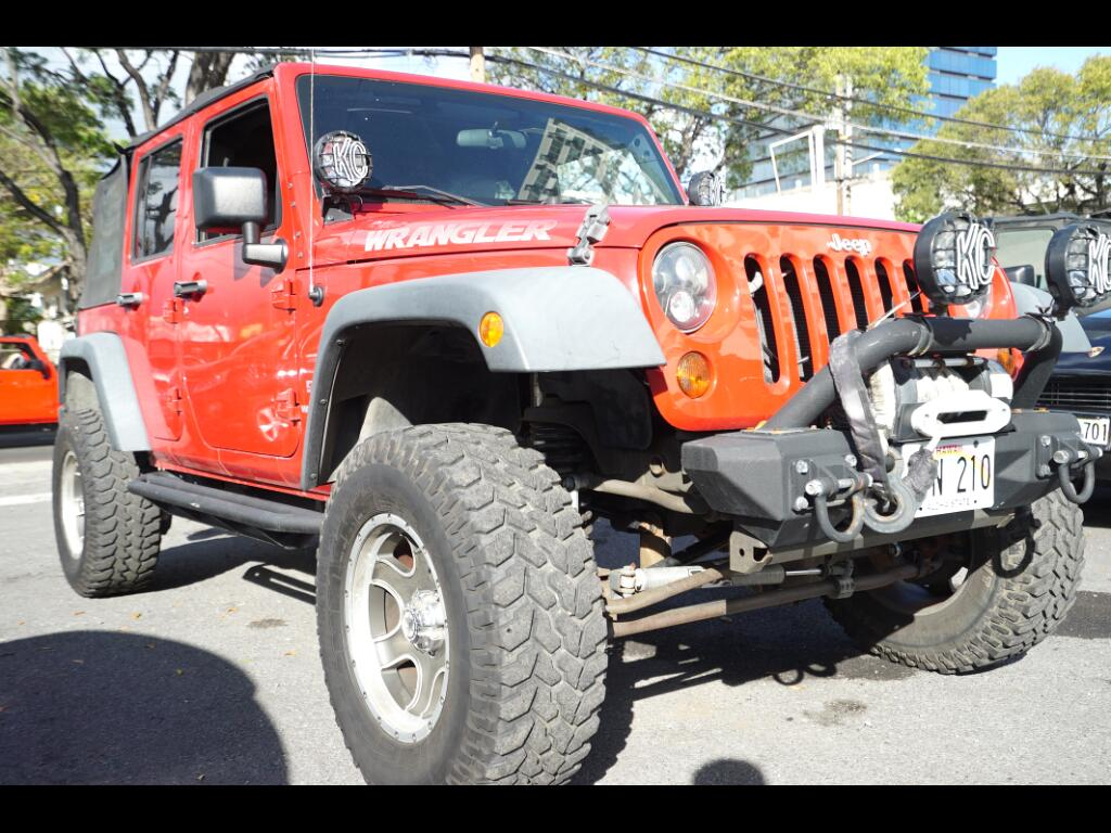 2010 Jeep Wrangler Unlimited 4WD 4dr Sport