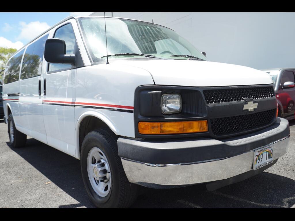 "2013 Chevrolet Express Passenger RWD 3500 155"" LS w/1LS"