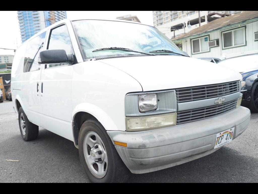 """2005 Chevrolet Astro Cargo Van 111.2"""" WB RWD"""
