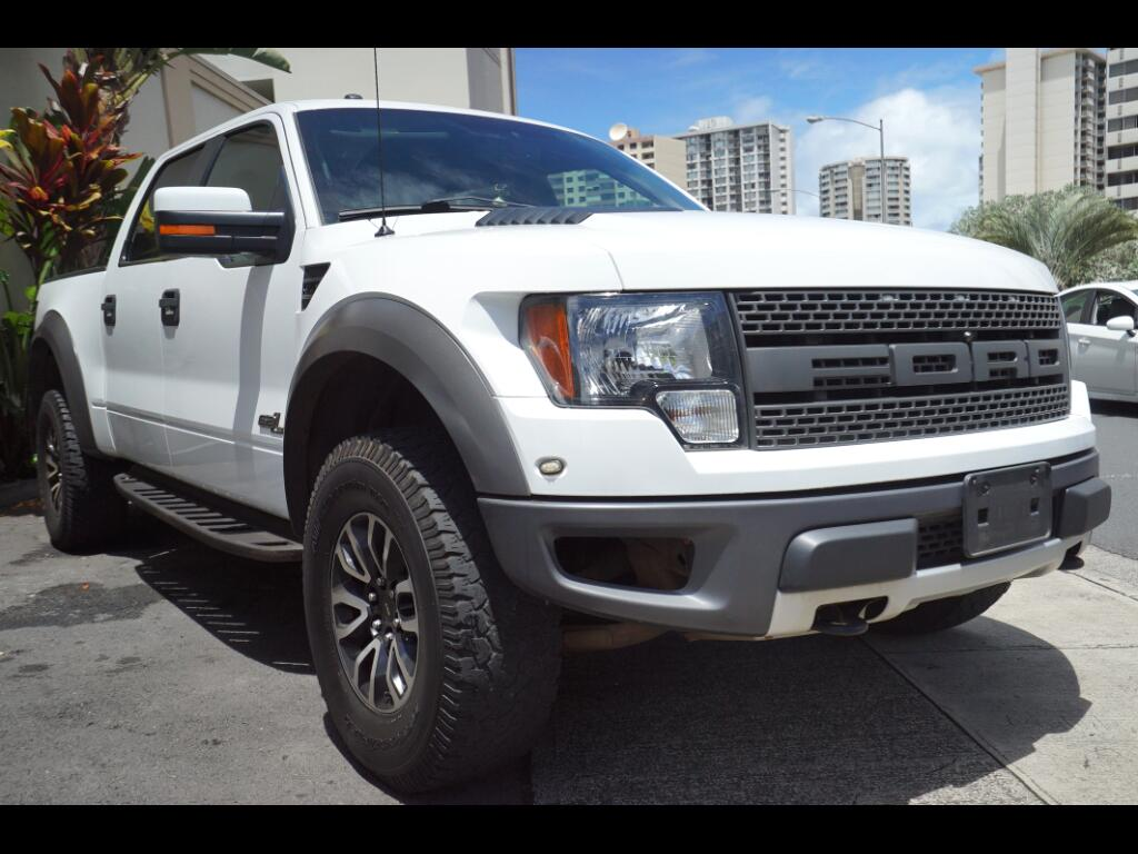 "2012 Ford F-150 4WD SuperCrew 145"" SVT Raptor"