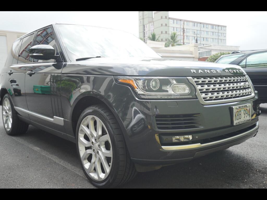 2013 Land Rover Range Rover V8 Supercharged SWB