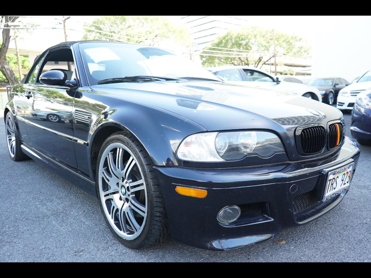 2003 BMW 3 Series M3 2dr Convertible