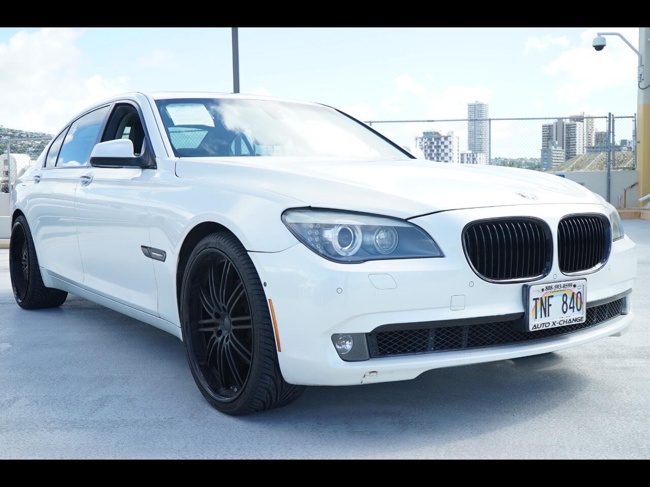 2011 BMW 7 Series 4dr Sdn 740Li RWD