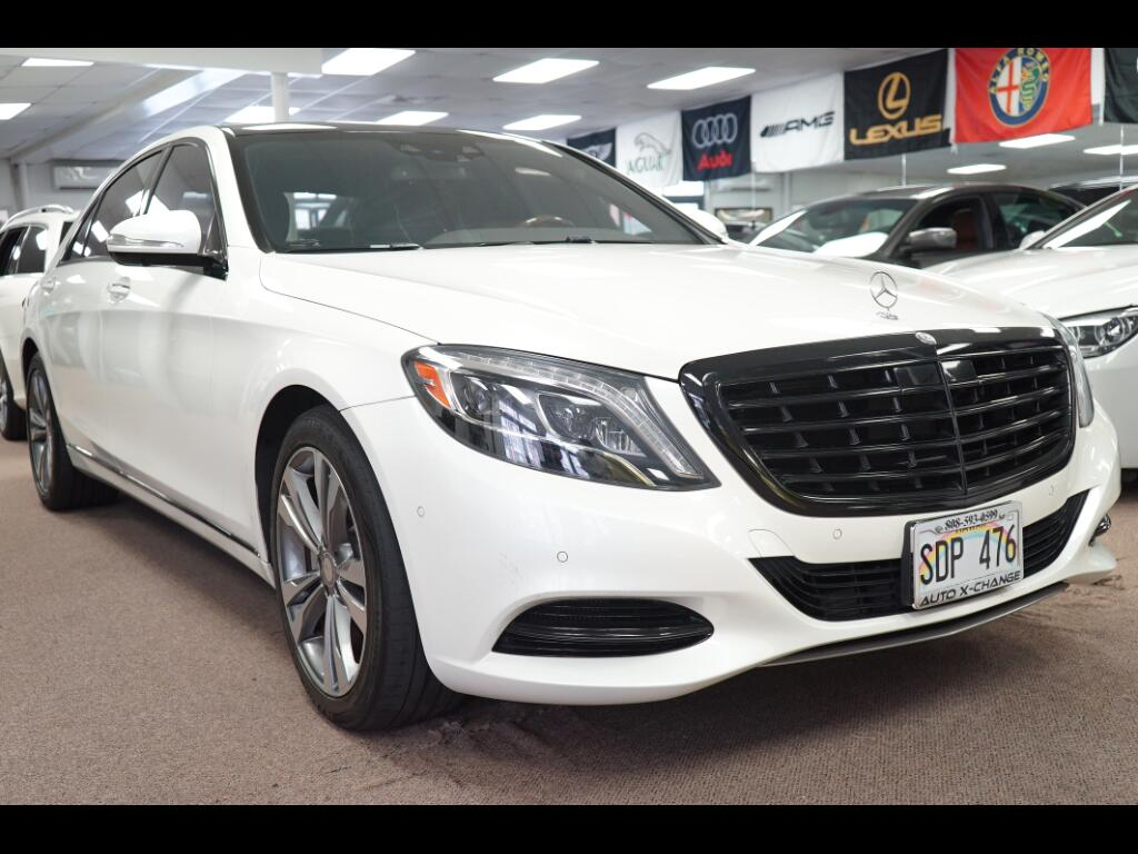 2014 Mercedes-Benz S-Class 4dr Sdn S 550 RWD