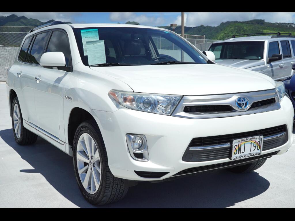 2012 Toyota Highlander Hybrid 4WD 4dr Limited (Natl)