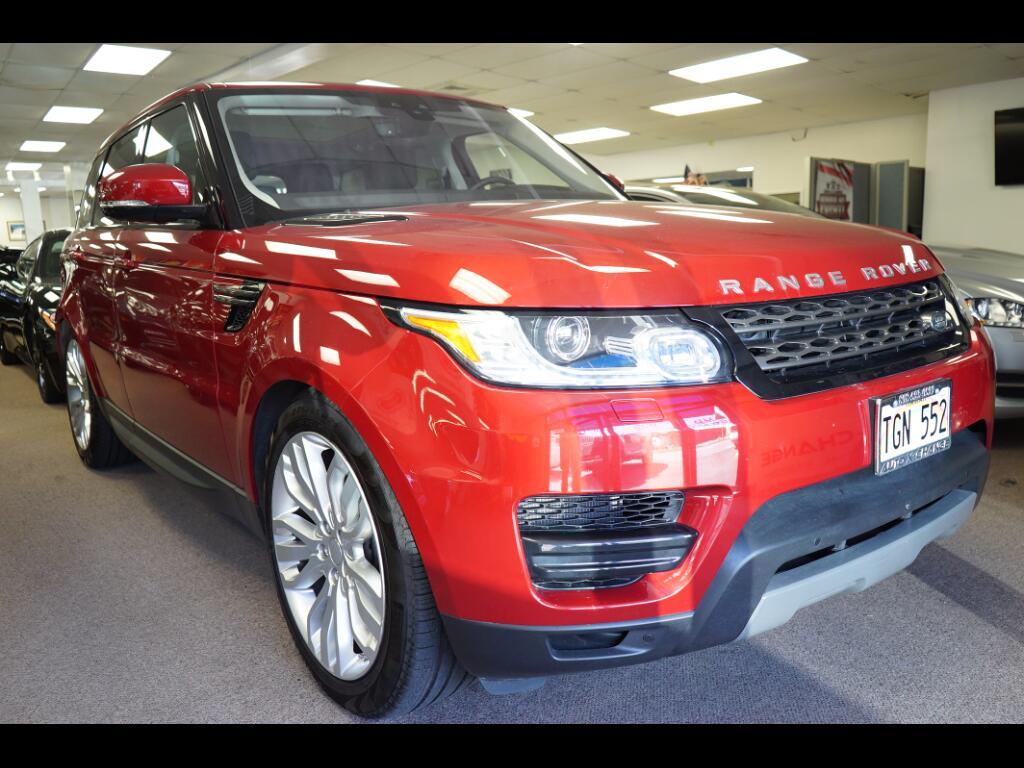 2017 Land Rover Range Rover Sport V6 Supercharged SE
